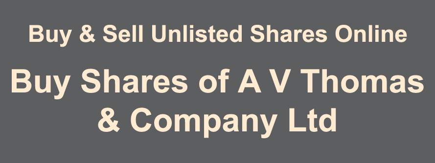 A V Thomas and Company Ltd