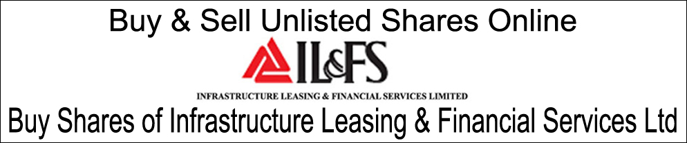 IL&FS - Infrastructure Leasing & Financial Services Ltd