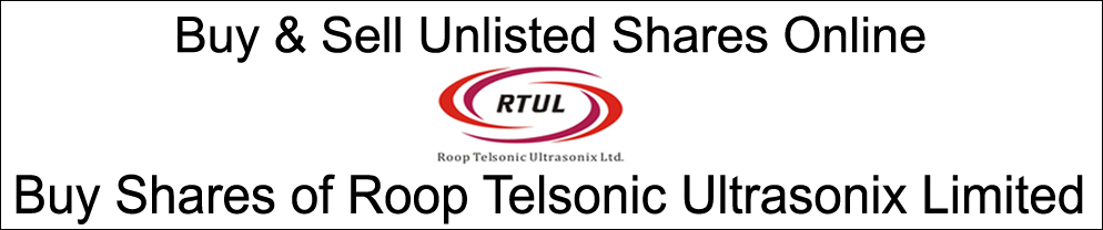 ROOP TELSONIC ULTRASONIX LIMITED