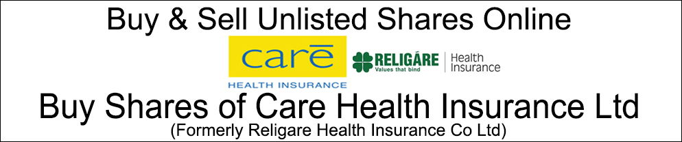 Care Health Insurance Ltd (Formerly Religare Health Insurance Co Ltd)